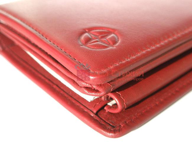 Кошелек Tony Perotti Cortina 5031-Cr rosso Красный, фото 4