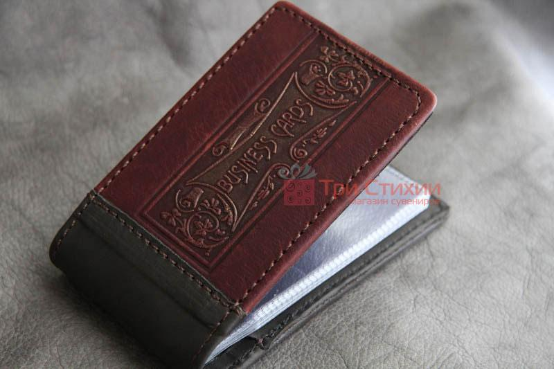 Визитница Мануфактура Гук кожаная BUSINESS CARDS (804-06-11), фото