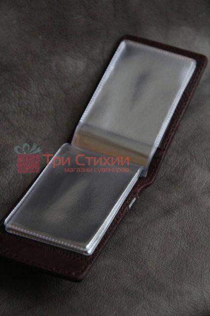 Візитниця Мануфактура Гук шкіряна BUSINESS CARDS (804-06-11), фото 3