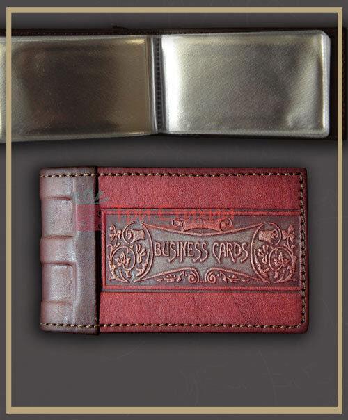 Візитниця Мануфактура Гук шкіряна BUSINESS CARDS (804-06-11), фото 6