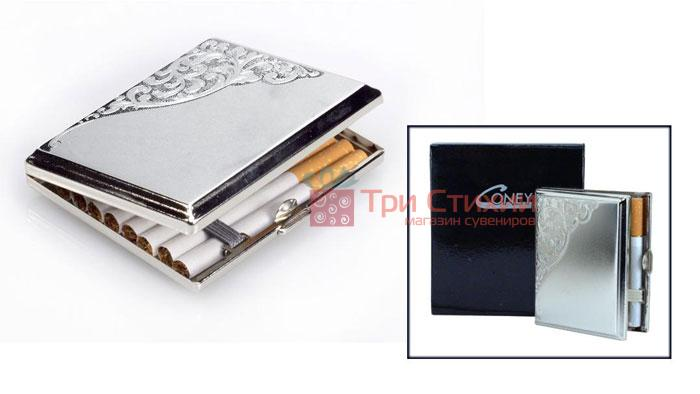 Портсигар VH 04727 для 18 KS сигарет Венеціанський дизайн, фото