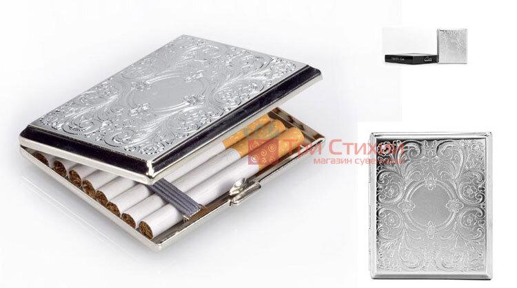 Портсигар VH 04745 для 18 KS сигарет Венецианский дизайн, фото