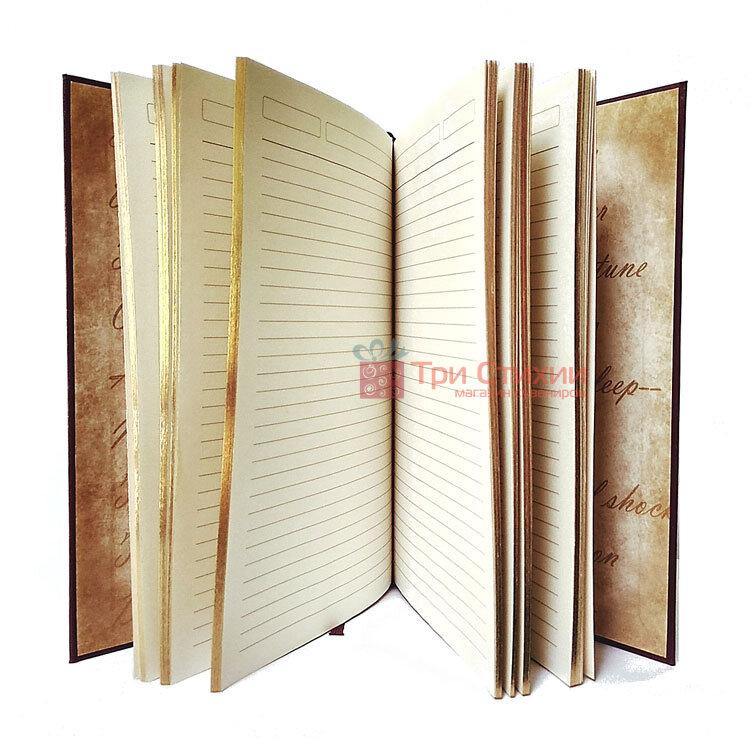 Кожаный ежедневник формат А5 Соты Макей (508-08-03), фото 2