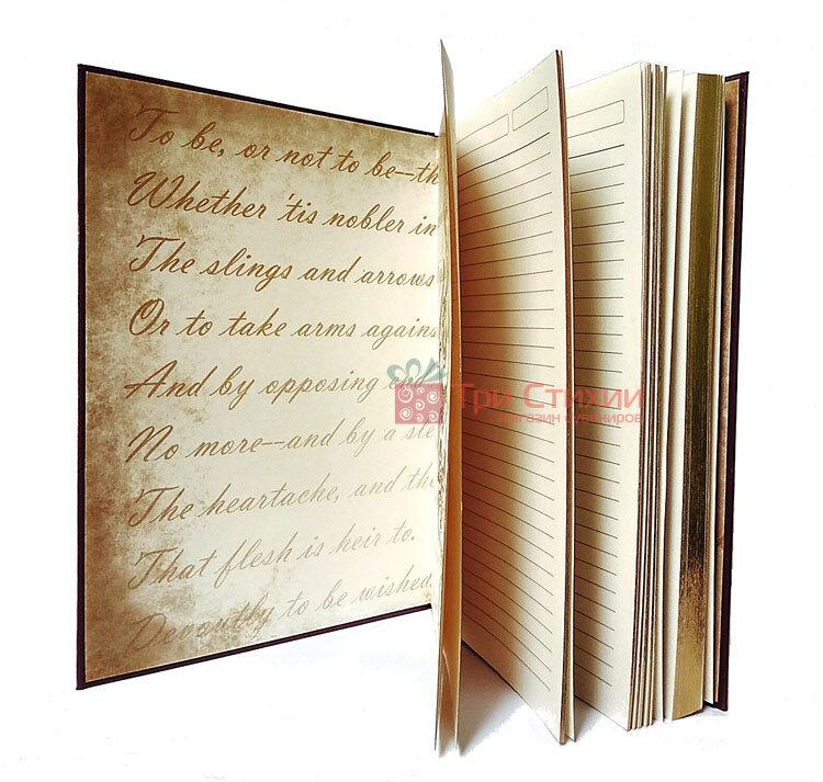 Кожаный ежедневник формат А5 Соты Макей (508-08-03), фото 3
