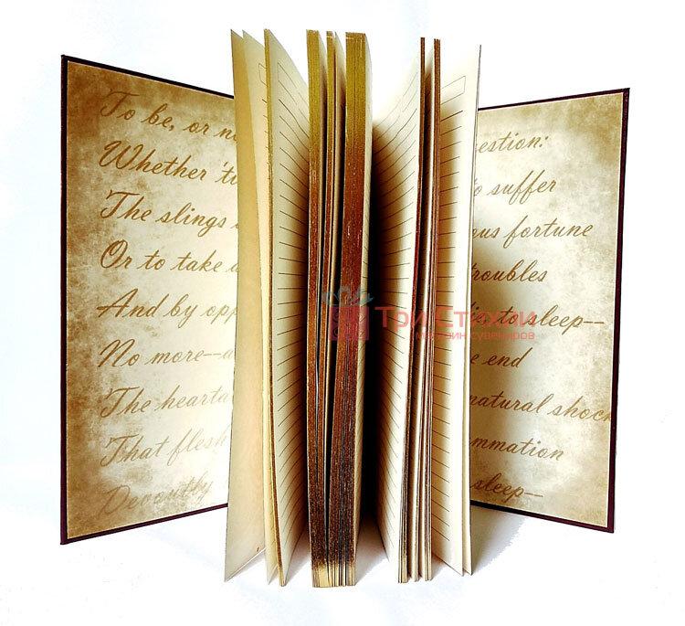 Кожаный ежедневник формат А5 Соты Макей (508-08-03), фото 4
