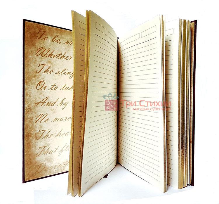 Кожаный ежедневник формат А5 Соты Макей (508-08-03), фото 5