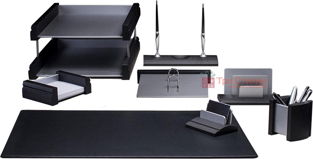 Настольный набор Bestar 8 предметов 8237 FDB Черный, фото