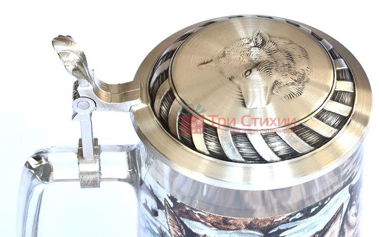 Кружка пивная Artina SKS Волк 500 мл (93340), фото 2