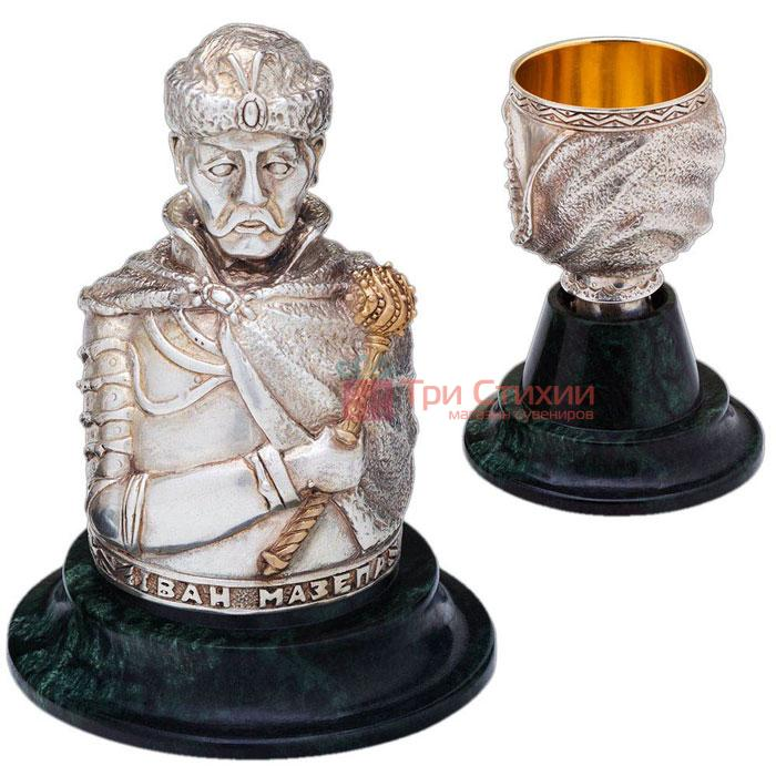 Набір інтер'єрних чарок «Гетьмани» 3шт Vizuri (Візурі) P01, фото 2