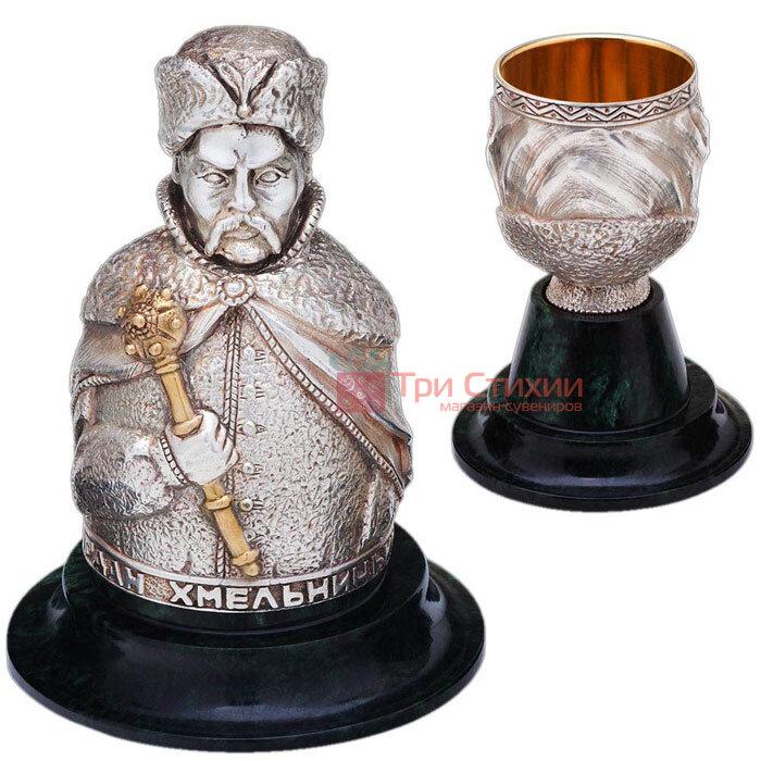 Набір інтер'єрних чарок «Гетьмани» 3шт Vizuri (Візурі) P01, фото 4